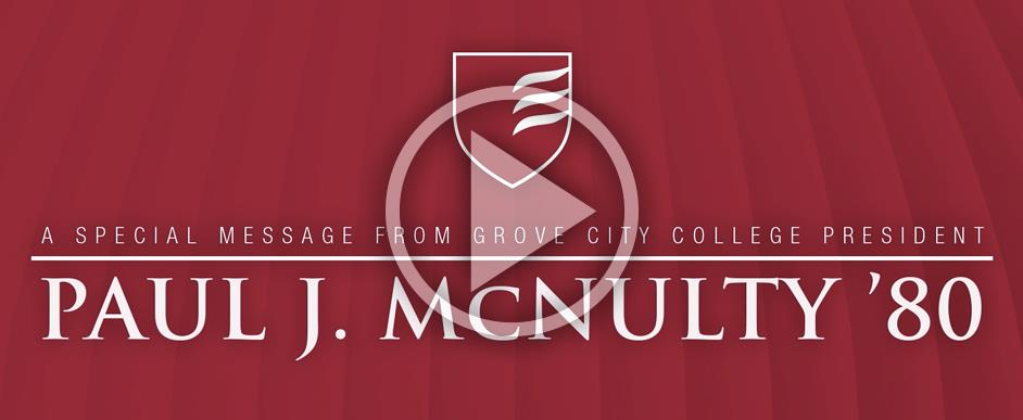From President McNulty '80